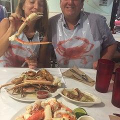 Photo taken at The Original Crab House by sara g. on 5/21/2015
