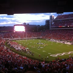 Photo taken at Sanford Stadium by Tim L. on 9/15/2012