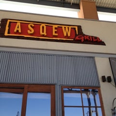 Photo taken at Asqew Grill by Tito N. on 4/21/2012
