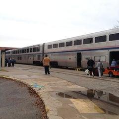 Photo taken at Austin Train Station - Amtrak (AUS) by Angel F R. on 12/16/2012