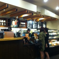 Photo taken at STARBUCKS COFFEE by Mia on 11/1/2012