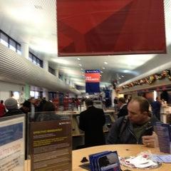 "Photo taken at Terminal D (Delta Terminal) by ""  Thomas D. on 11/30/2012"