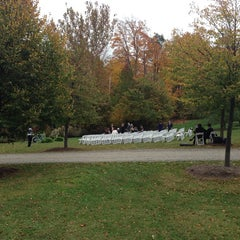Photo taken at Buttermilk Falls Inn & Spa by Ken A. on 10/19/2013