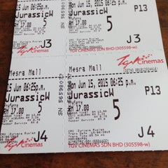 Photo taken at TGV Cinemas by Amzar B. on 6/15/2015