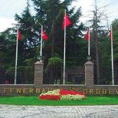 Photo taken at Fenerbahçe Orduevi by Kubilay K. on 7/27/2013