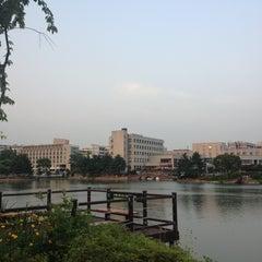 Photo taken at 건국대학교 (Konkuk University) by Burmi on 6/7/2013