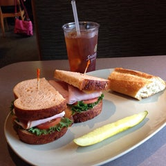 Photo taken at Saint Louis Bread Co. by Mike on 6/4/2014