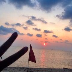 Photo taken at Milky Bay Resort Koh Phangan by Maria Z. on 1/30/2015