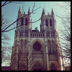 Photo taken at Washington National Cathedral by Cristina P. on 4/5/2013