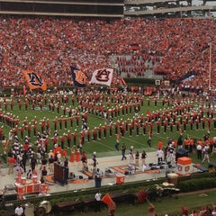 Photo taken at Jordan-Hare Stadium by Anne Mims A. on 9/1/2013