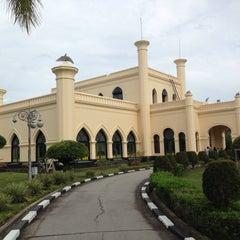 Photo taken at Istana Sultan Siak by Moch Novian D. on 12/27/2014