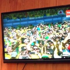 Photo taken at Lounge Brasil by Joao Pedro R. on 6/28/2014