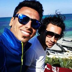 Photo taken at Marina Club | کلوپ ساحلی کیش by Jahan A. on 3/16/2014
