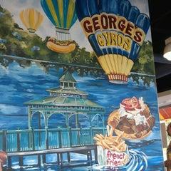 Photo taken at George's Gyros Spot #2 by Debbie B. on 9/22/2012