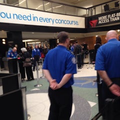 Photo taken at TSA Checkpoint C by Rawleigh H. on 1/20/2015