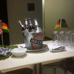 Photo taken at Lufthansa Welcome Lounge (Arrival Lounge) by Ashley M. on 6/17/2014