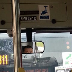Photo taken at SMRT Buses: Bus 858 by rklover66 on 5/17/2014