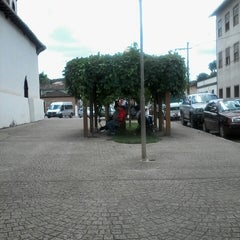 Photo taken at Igreja do Rosário by Carolina M. on 3/17/2014