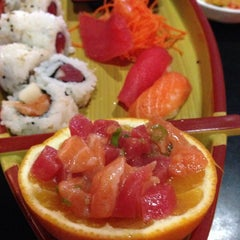 Photo taken at Origami Sushi by Marc V. on 8/25/2014