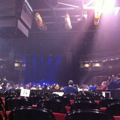 Photo taken at Agganis Arena by Jeffrey M. on 1/1/2013