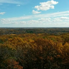 Photo taken at Lapham Peak Unit, Kettle Moraine State Forest by Edgar on 10/25/2015