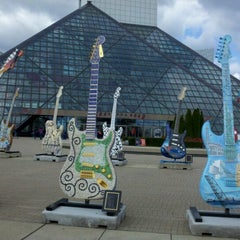 Photo taken at The Rock and Roll Hall of Fame and Museum by Hester B. on 10/6/2012