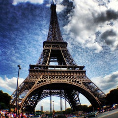 Photo taken at Tour Eiffel by Pierre L. on 7/6/2013