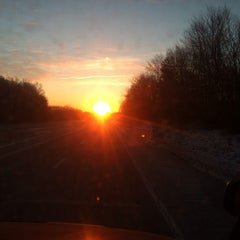 Photo taken at I-80 by Sarah W. on 1/22/2014