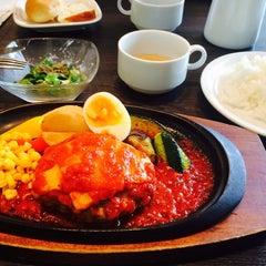 Photo taken at CAFÉ de CRIÉ 道玄坂上店 by Kanako M. on 8/15/2014