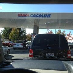 Photo taken at Costco Gas Station by Yolanda V. on 10/30/2012