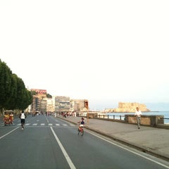 Photo taken at Lungomare di Napoli by ValeRia S. on 6/20/2012