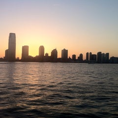 Photo taken at Hudson River Promenade by MJ on 7/15/2013