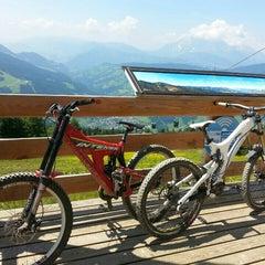 Photo taken at Bikepark Wagrain by Johannes D. on 7/17/2015