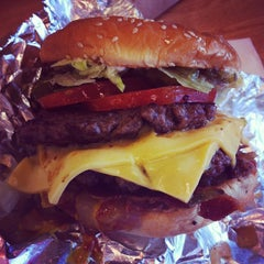Photo taken at Five Guys by Conner J. on 5/17/2013