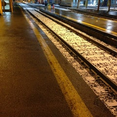 Photo taken at Union Station Platform 5 by Brooke on 2/8/2013