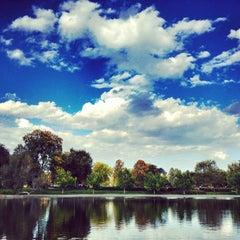 Photo taken at Washington Park by Andrew J. Coate on 10/1/2012