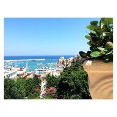 Photo taken at Villa Comunale Regina Margherita by CiVorrebbe U. on 7/23/2015