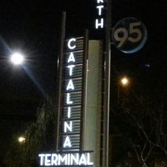 Photo taken at Catalina Terminal 4 by Tony C. on 2/16/2013