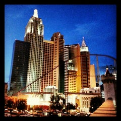 Photo taken at New York-New York Hotel & Casino by Tony C. on 2/9/2013