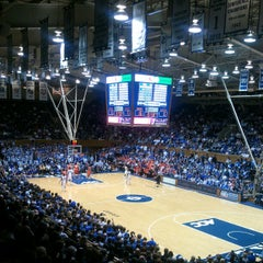 Photo taken at Cameron Indoor Stadium by Allison K. on 1/9/2013