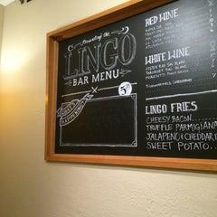 Photo taken at Lingo Bar & Cafe by Sara B. on 10/15/2014