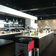Photo taken at SWISS Business Class Lounge by Emily S. on 6/19/2013