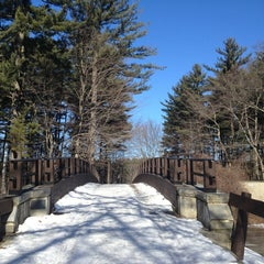 Photo taken at Mine Falls Park by Mike on 1/27/2013