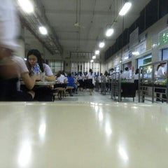 Photo taken at โรงอาหารอาคารมหิตลาธิเบศร (Mahit. Bldg. Canteen) by supawadee p. on 10/19/2015