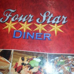 Photo taken at Four Star Diner by Uzo C. on 7/20/2014