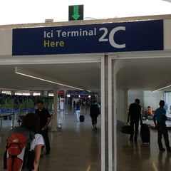 Photo taken at Terminal 2C by Philippe L. on 7/13/2013