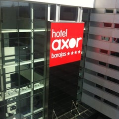 Photo taken at Hotel AXOR Barajas****plus by Kraisee P. on 6/27/2013