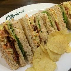 Photo taken at O'Briens Irish Sandwich Bar by Theng Hsiang H. on 7/27/2015