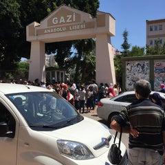 Photo taken at Antalya Gazi Anadolu Lisesi by Hüseyin E. on 6/14/2015
