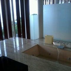 Photo taken at Anantara Seminyak Bali Resort & Spa by lensa d. on 11/14/2012